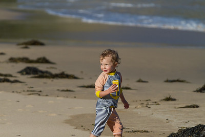 Orlando Playing at Smelly Beach - Rosedale Easter 2017