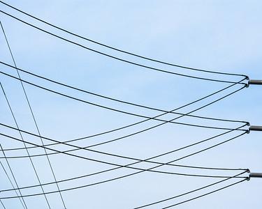 Wires, Sunnyvale, California, 2009