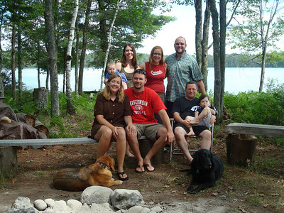 <b>July '08: The Cabin @ Eagle River, WI w/ Poffs & Bradys</b>