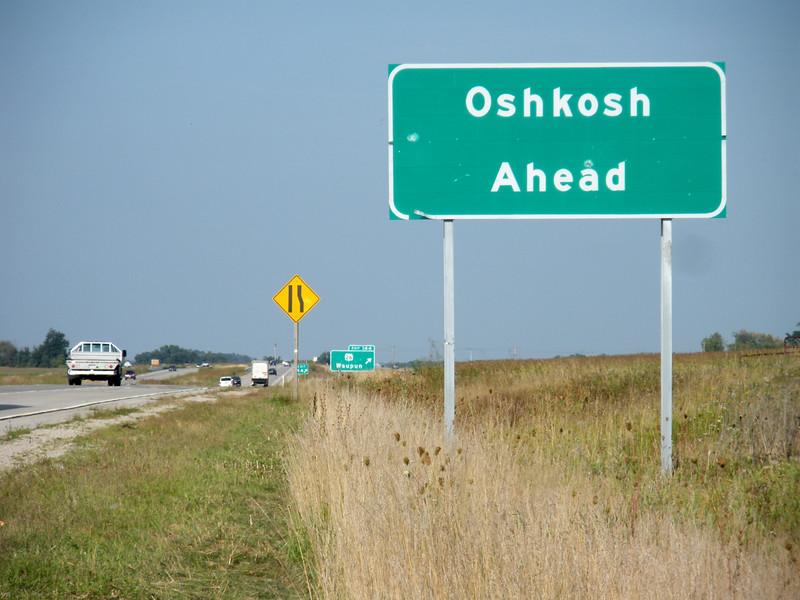 Oshkosh Ahead