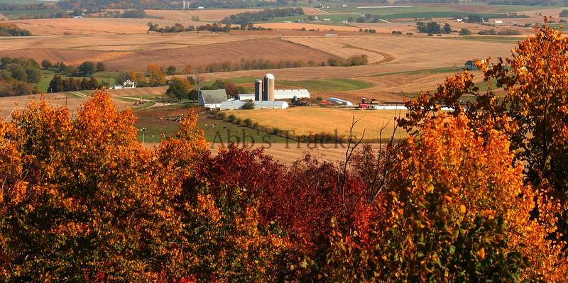 Wisconsin fall farm