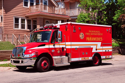 City of Milwaukee, WI Ambulances