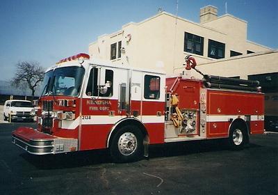 Updated 4/17: Kenosha County, Wisconsin Fire Apparatus