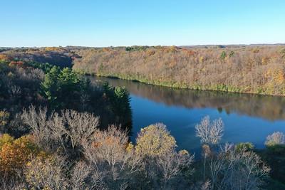 Glen Lake, a reservoir.