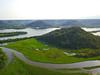 Mount Trempealeau Perrot State Park WI. Mississippi River.