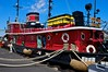 The John Purves a restored tugboat. Sturgeon Bay Wisconsin.