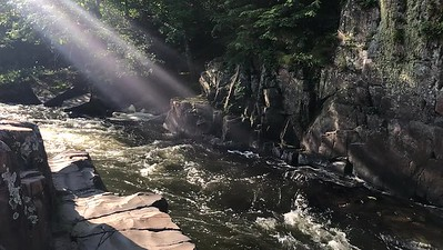 Dells of the Eau Claire, iPhone clip