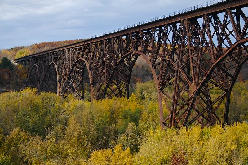 Rail road bridge over the St. Croix.