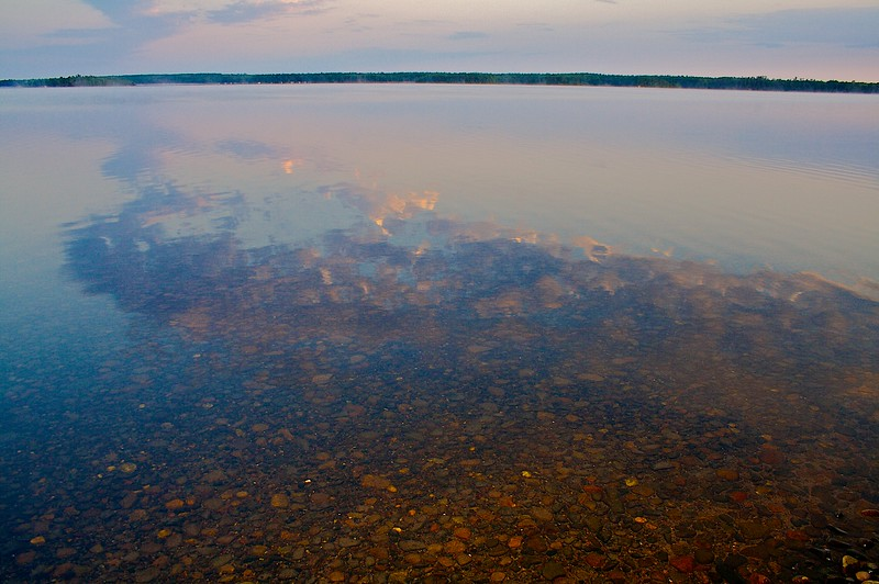 Trout Lake Northern Wisconsin.