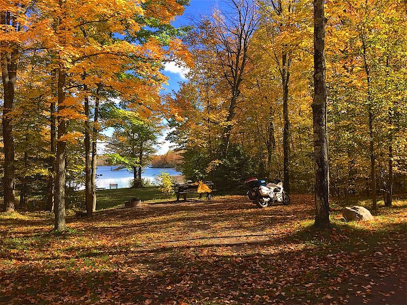 Sailer Lake Chequamegon Nicolet National Forest.