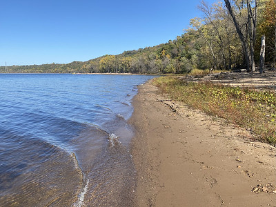 Public land just north of Hudson on the St Croix.