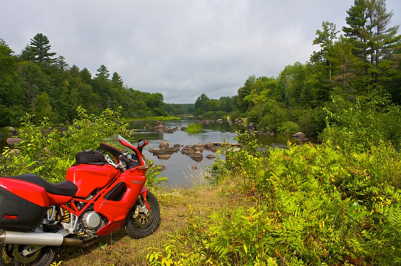 Bike trip number 7 2009. I have been doing this on a motorcycle since 1977.. still love it. Can't image anything more fun.