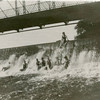 Swimmers on the Argyle dam.