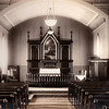 Interior of the Argyle Lutheran church. Cary must have been a photographer from the early 20th Century.