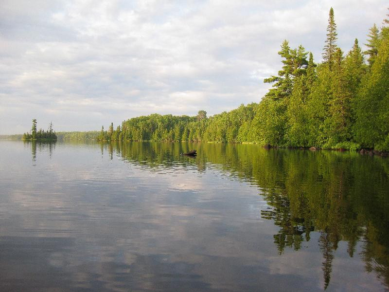 Typical Boundary Waters scenery.