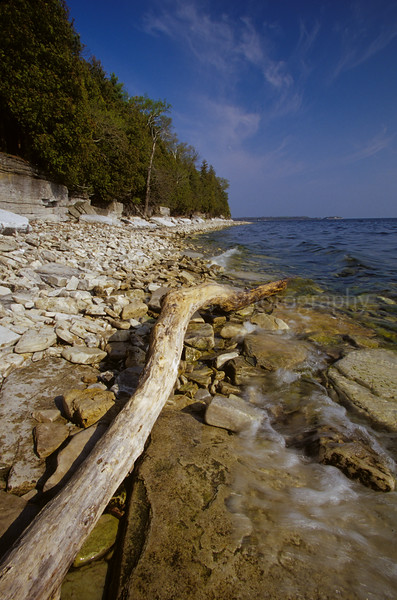 Door County, Lake Michigan Shoreline, Potowatomi State Park