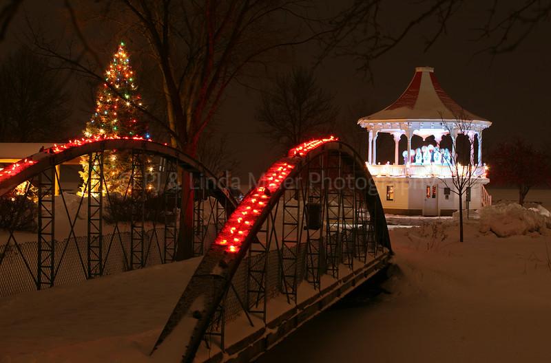 Fond du Lac Lakeside Park in Winter