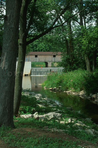 WI019893 Manitowoc - Mishicot Covered Bridge