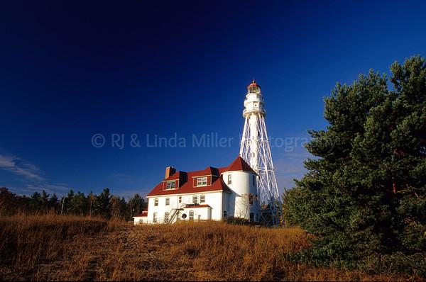 WI050367 Manitowoc - Rawley Pt  Lighthouse