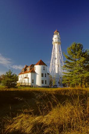 WI050369 Manitowoc County - Rawley Pt Lighthouse
