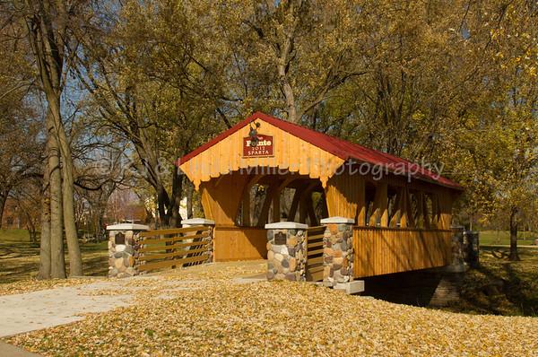 The Pointe Covered Bridge, Evans Bosshard Park, Sparta, Wisconsin
