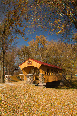 The Pointe Covered Bridge, Evans Bosshard Park, Sparta, Wisconsin