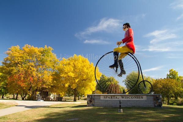 Elroy Sparta Bike Trail, Sparta, WI, Monroe County