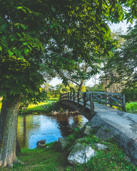 Covered Bridge County Park in Cedarburg Wisconsin