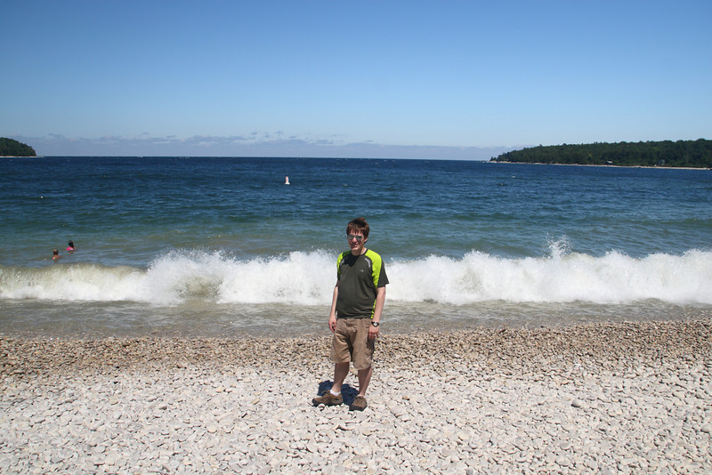 Brad at Schoolhouse Beach