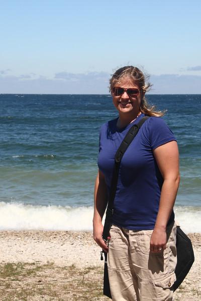 Nikki on Schoolhouse Beach