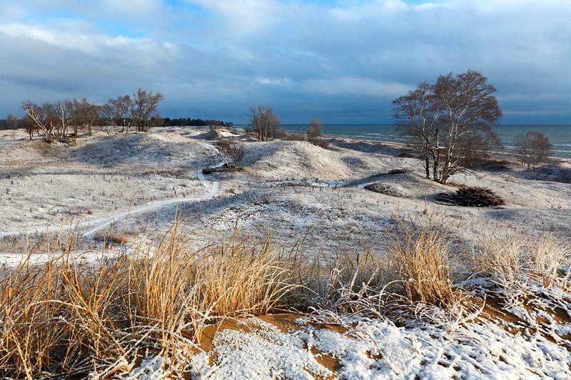 Winter's Warning - Kohler-Andrae State Park (Sheboygan, WI)