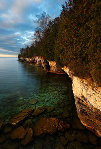 Eroded Emeralds II - Cave Point County Park (Door County - Wisconsin)