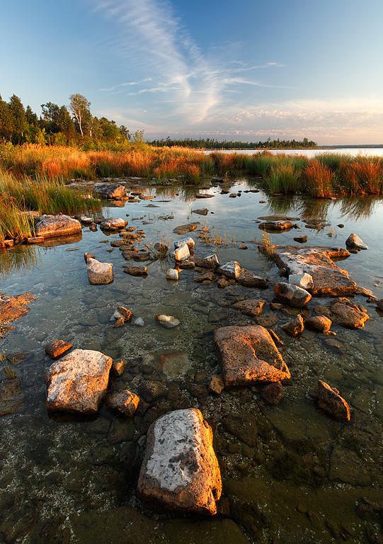 What Lies Beneath - Toft Point (Door County - Wisconsin)