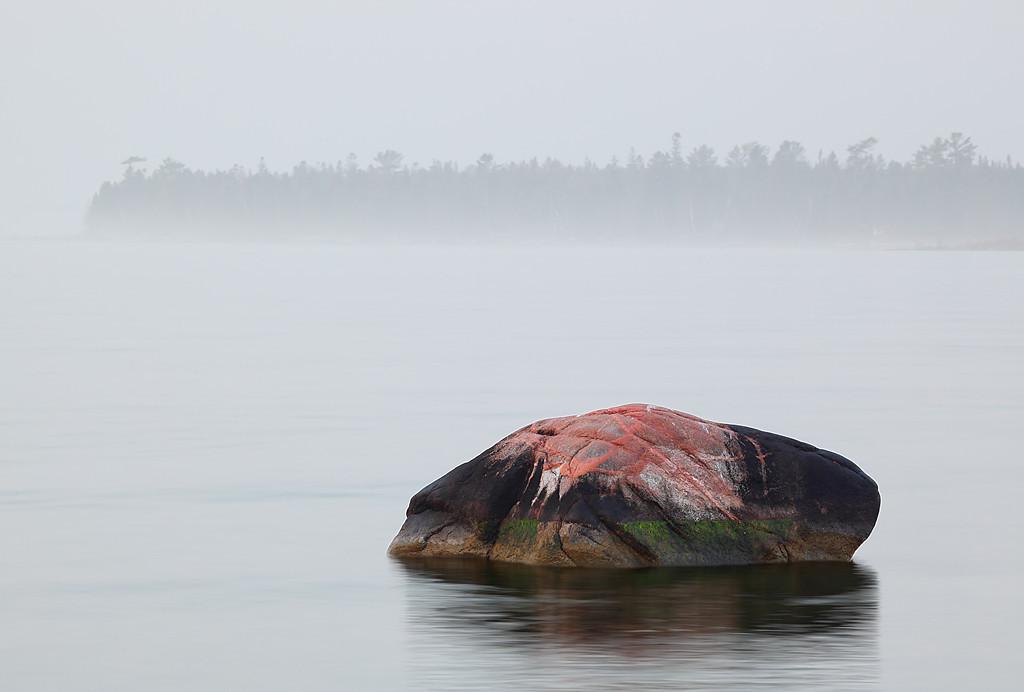 Solitude Rock - Spike Horn Bay (Door County - Wisconsin)