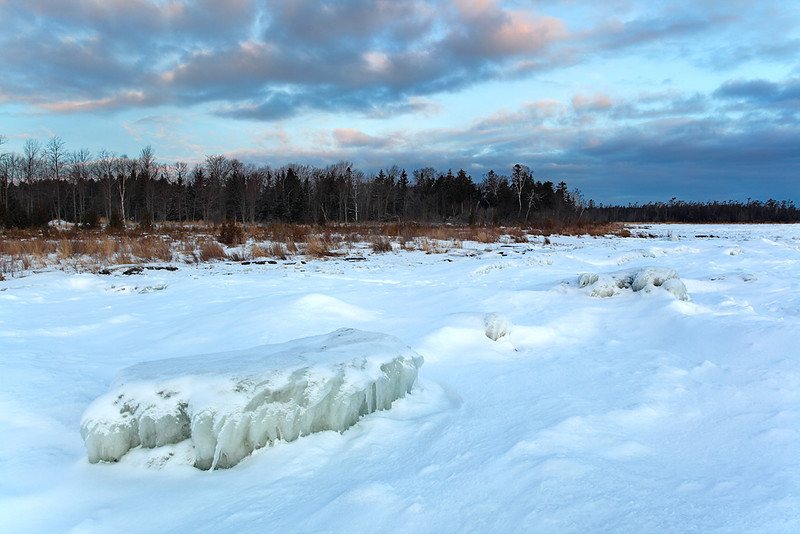 The Winter Blues - Toft Point State Natural Area (Door County - Wisconsin)