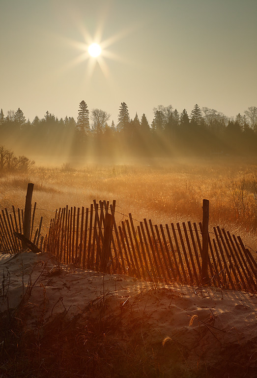 Rays of Light - Spiked Horn Bay (Door County - Wisconsin)