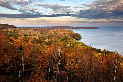 Autumn Astound - Eagle Panorama Lookout (Peninsula State Park - Door County)