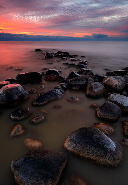 Sunday Stillness II - North Beach Shallows (Fox Point, WI)