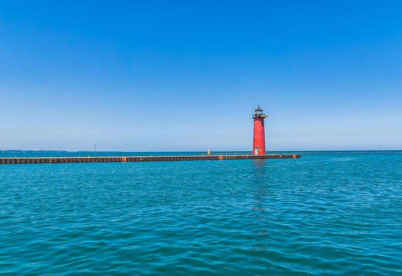 Kenosha Lighthouse in Kenosha Wisconsin