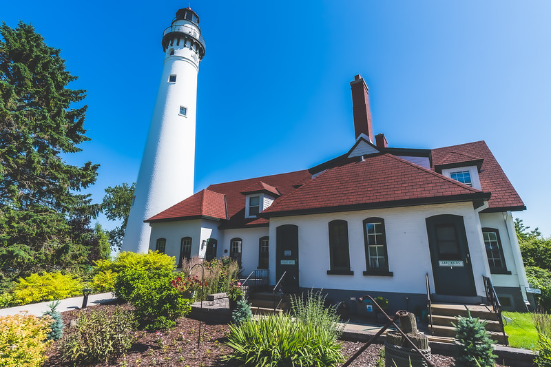 Wind Point Lighthouse in Racine Wisconsin