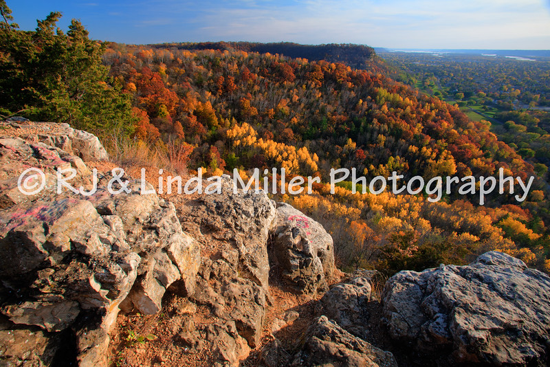 La Crosse County, WI, View From Miller Bluff