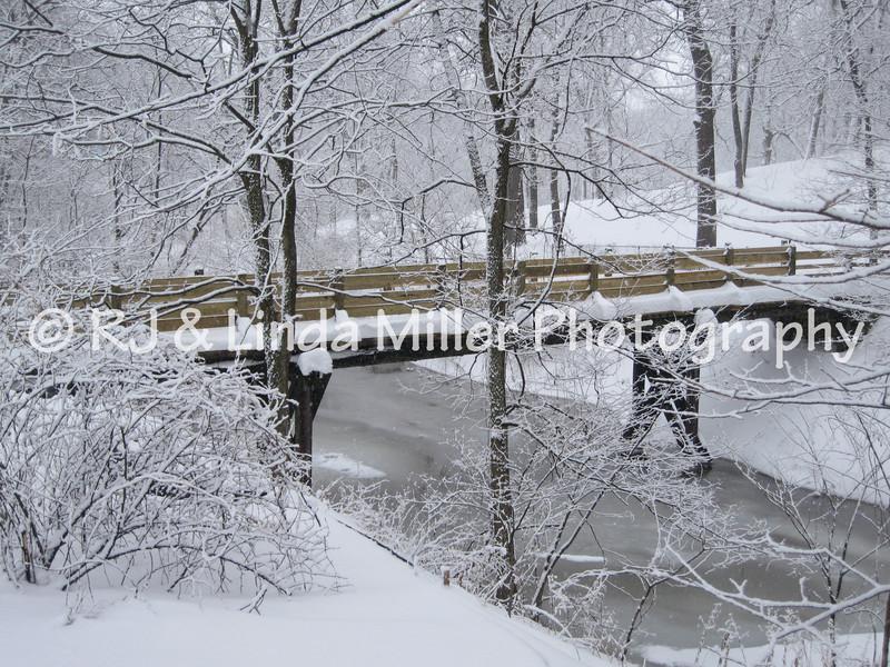 La Crosse - Holmen Town Park in Winter