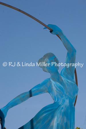 La Crosse, Pumphouse Regional Arts Center, Dancer Statue
