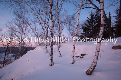 La Crosse County, Onalaska, Green Coulee Park, Winter
