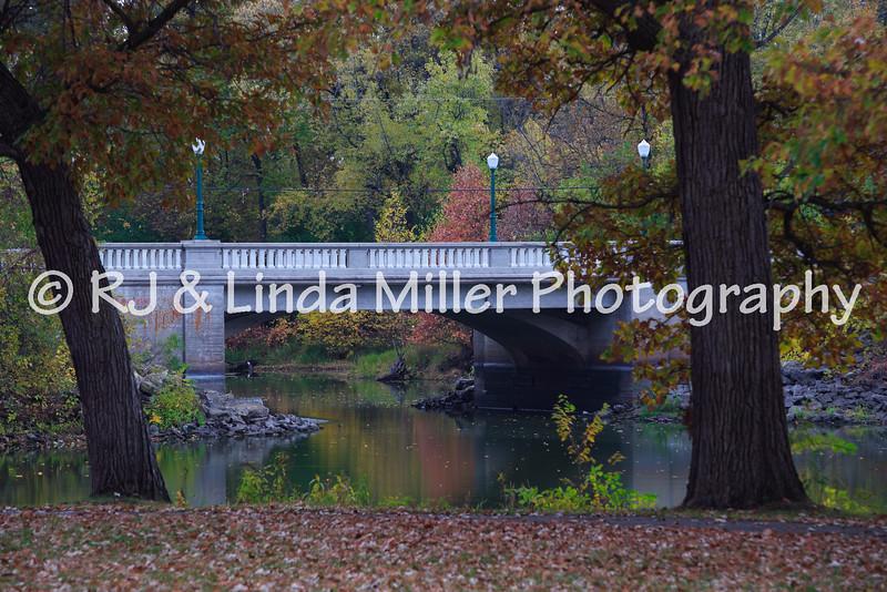 Bridge in Pettibone Park, La Crosse County