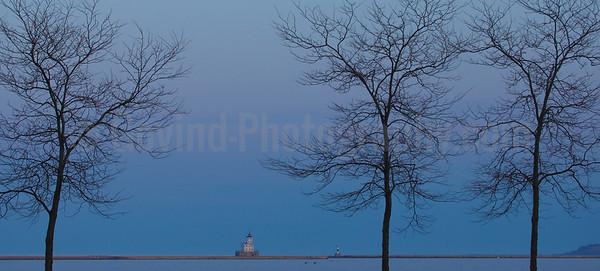 Breakwater Lighthouse, Milwaukee