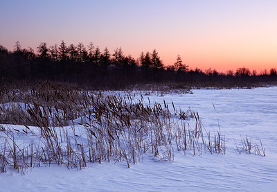 Long Lake Sunset - Kettle Moraine State Forest (Northern Unit)