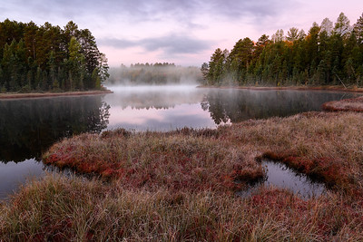 September Sweeps  - Blueberry Lake (Northern Highland American Legion State Forest - Wisconsin)