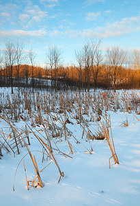Last Light at Dundee - Kettle Moraine State Forest (Northern Unit)