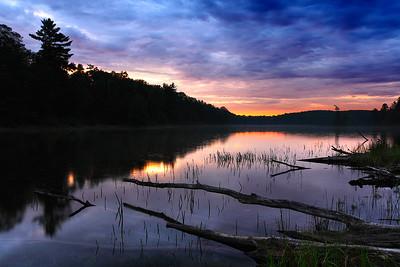 Dawn's Delight - Nebish Lake (Northern Highland American Legion State Forest - Wisconsin)
